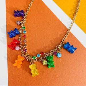 Betsey Johnson Gummy Bears novelty Candy Necklace